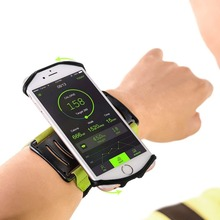 VUP Running Phone Arm Band Wristband 180 degree Rotatable Running Bag Belt Wrist Strap Sports Jogging Cycling Gym Bag for iPhone