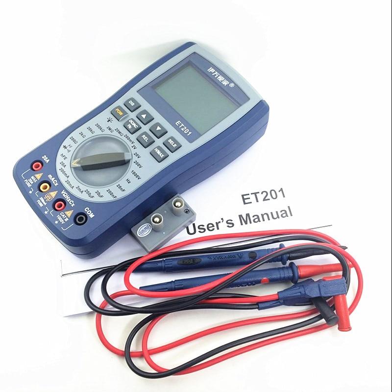 EONE ET201 oscilloscope multimeter 2-IN-1 most versatile intelligent handheld storage scope meter scopemeter English Version rebekka bakken rebekka bakken most personal 2 lp