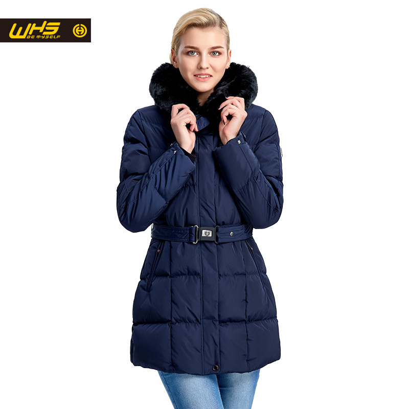 WHS Women cotton jacket in Winter ladies thick warm parkas long coat outdoor female hiking jackets womens big sales off free shipping new brand mens charge garments multifunction jacket winter warm thicker cotton parkas sales