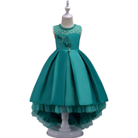 2016 Lace Princess Girl Dress Children Girl Clothing Of 7 15 Year Old Girl Little Bridesmaid