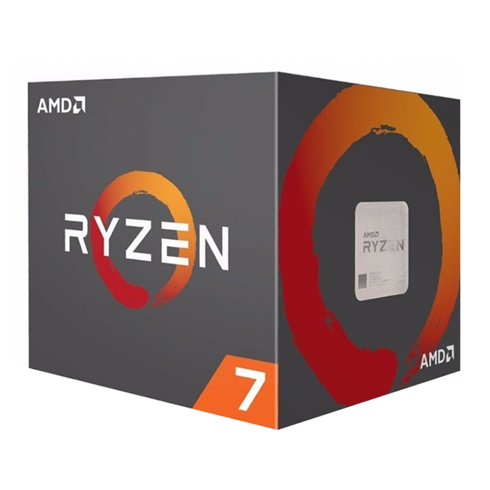 AMD Ryzen 7 1800X AMD Ryzen série 3.6 ghz Socket AM4 PC CPU 14 nm Sommet Crête ry zen R7 1800X CPU De Bureau processeur
