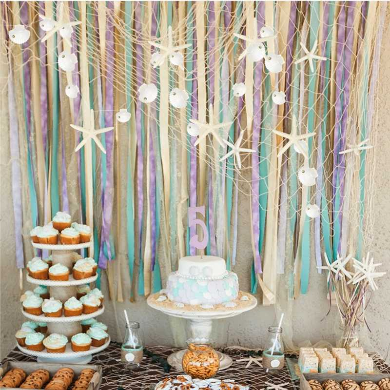 Starfish Confetti Summer Party Decoration Seashell Confetti Summer Wedding Confetti Seashell Baby shower decoration Little Mermaid Party