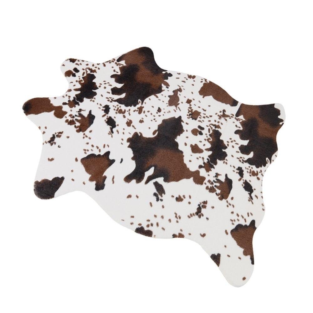 75x110cm Cute Cow Print Rug 29.5