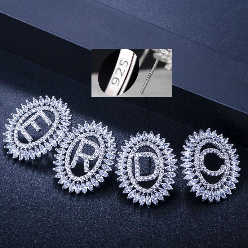 Letter Earrings Jewelry Set13