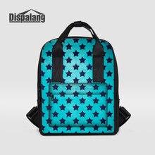 Dispalang модные женские туфли рюкзаки звезды полоса печати рюкзак для ноутбука леди рюкзак студент колледжа школьные сумки Mochila Feminina