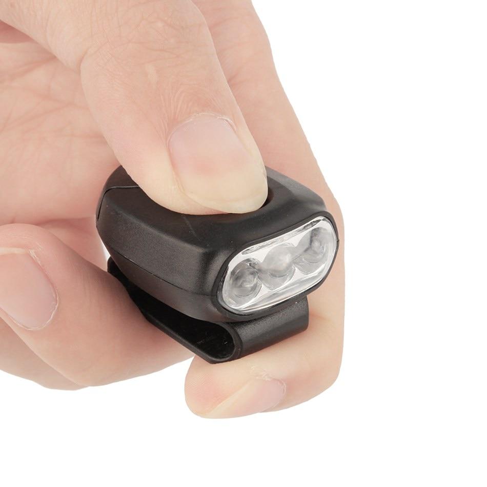 New LED Outdoor Cap Clip Lamp Portable Hat Light Headlight