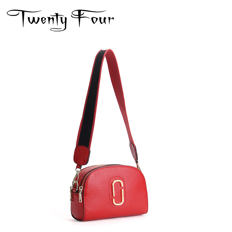 Twenty-four Women Genuine Leather Cross Body Saddle Bag With Sequined Messenger Bag Solid Color Leather Cover Bag Designer Bags twenty four women brand flap bags natural genuine leather handbags with chain solid color cover small bags young cross body bags