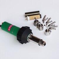 Горячий воздух сварочный пистолет сварщик с 7 шт. сварки насадки и 1 шт. нагревательного элемента с слюды трубки