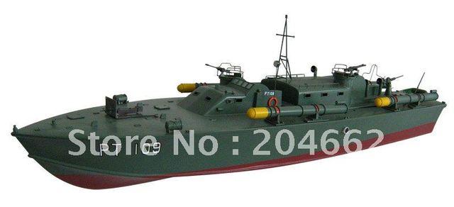 rc  boat, rc model lPT109 Patrol Torpedo Boat 1300GP260-RTR(Pistol Transmitter) toys toys