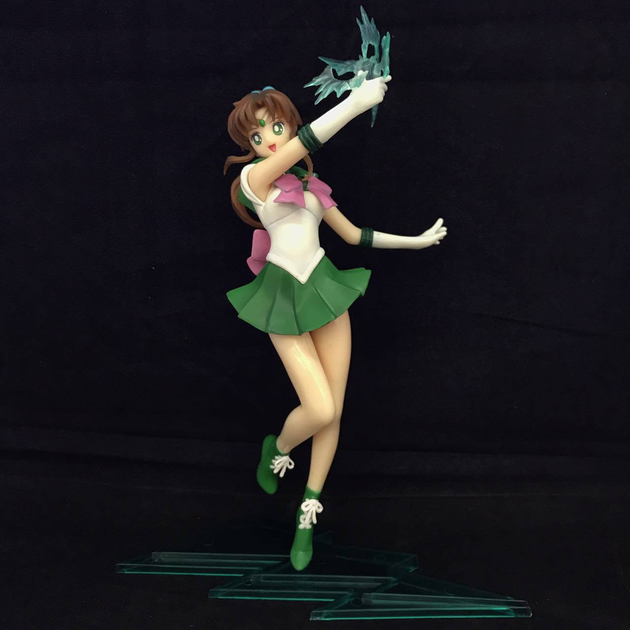 все цены на Sailor Moon Figuarts ZERO Sailor Jupiter Kino Makoto PVC Figure Collectible Model Toy 23cm онлайн