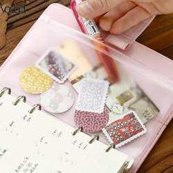 Файл Организатор ПВХ A5/A6/A7 молнии сумка карты счета сумки вкладыш хранения держатель карманы школьные канцелярские принадлежности