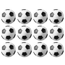 CUESOUL 12 Black and White Engraved Soccer Foosballs Free Shipping One Dozen coolidge susan a round dozen
