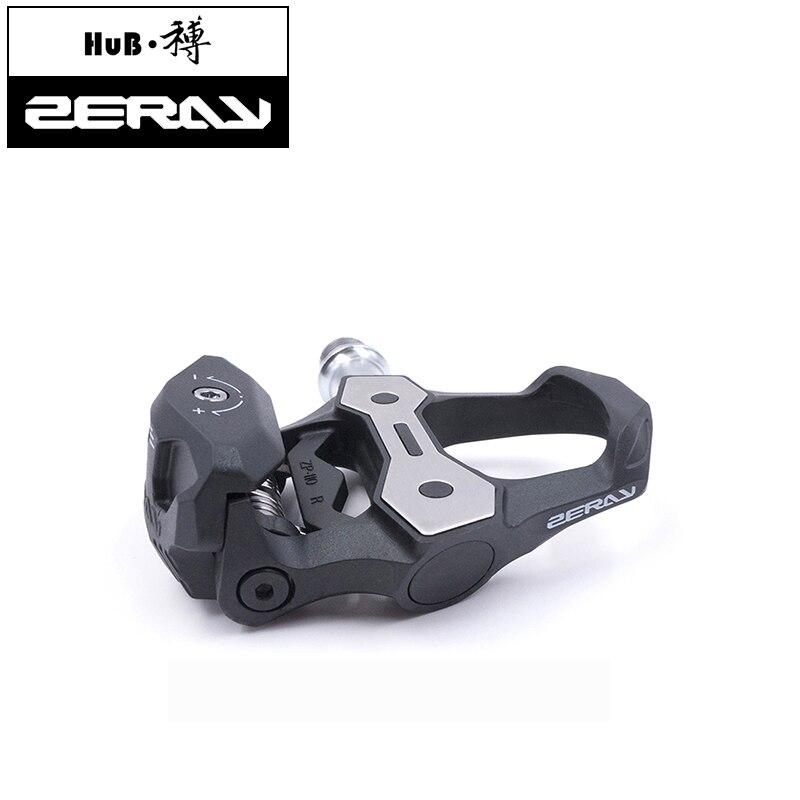ZERAY ZP-110 pédale de vélo en Fiber de carbone pédale de vélo de route avec taquet compatible avec la structure LOOK KEO