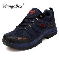 Men Shoes Trekking Large Size 13 Shoes Men Professional Outdoor Mid Top Men Outdoor Hiking Shoes