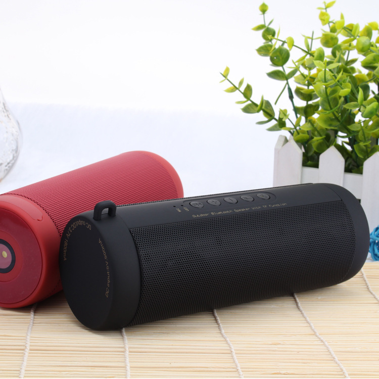 Image 4 - T2 Outdoor Waterproof Super Bass Bluetooth Speaker Mini Portable Wireless Loud Speakers for iPhone X Samsung S8 S9-in Portable Speakers from Consumer Electronics