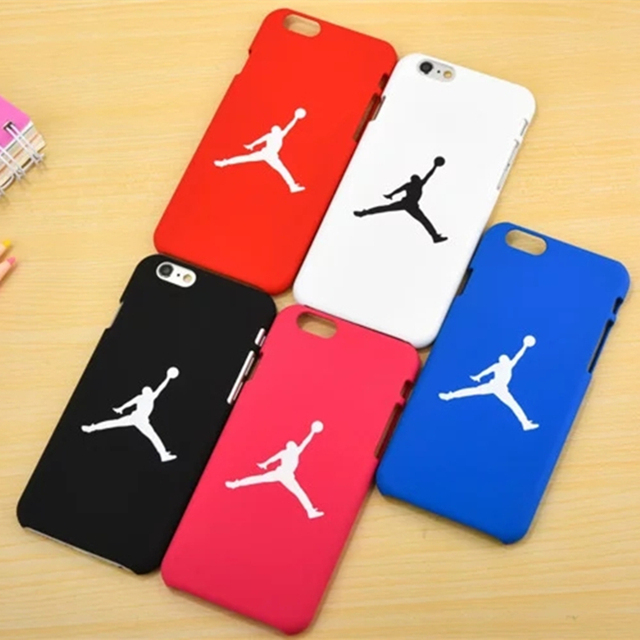 Jordan NBA Case Red Black Matte Phone Case  for iphone7 6 6s 6 plus 5 5S SE