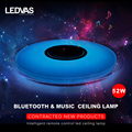 LEDVAS New 52W APP remote control Bluetooth & Music LED ceiling Light with RGB Dimmable modern Led ceiling lamp 85-265V