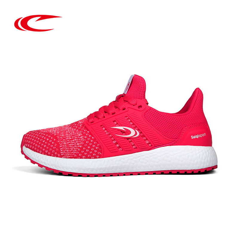 SAIQI Women Breathable Running Shoes Female Light-weight Sneakers Ladies Walking Trainer Jogging Sport Shoes Outdoor Footwear