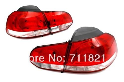 Stock Tail Light For VW Golf MK6 система освещения gzautopart vw golf 6 mk6 vw mk6