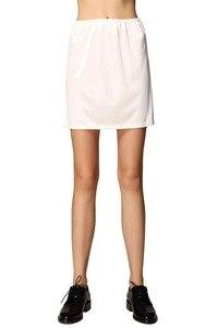 Шелковая женская короткая Нижняя юбка трусики под платье мини-юбка Свадебная Нижняя юбка, свадебные аксессуары