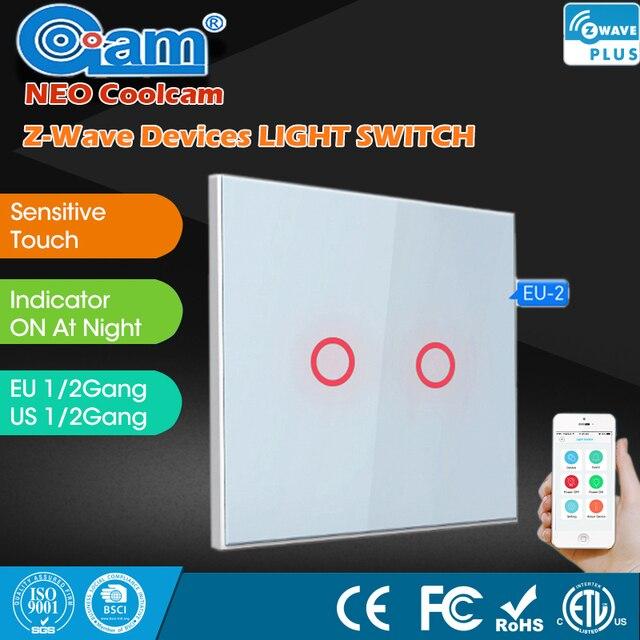 110230v wireless smart home zwave wall light switch home automation z wave