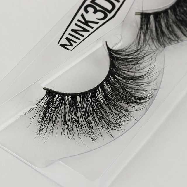 8a7b21ea047 Best Price 1Pair Luxury 3D Mink Hair False Eyelashes Voluminous Thick Long  Eye Lashes Multi-