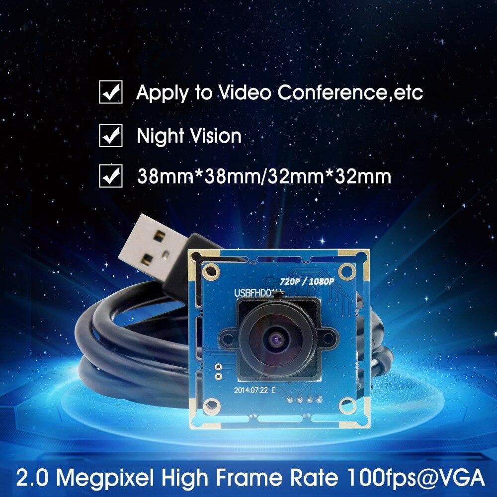 1080p Teljes Hd MJPEG 30fps / 60fps / 100fps Nagysebességű CMOS - Biztonság és védelem - Fénykép 3