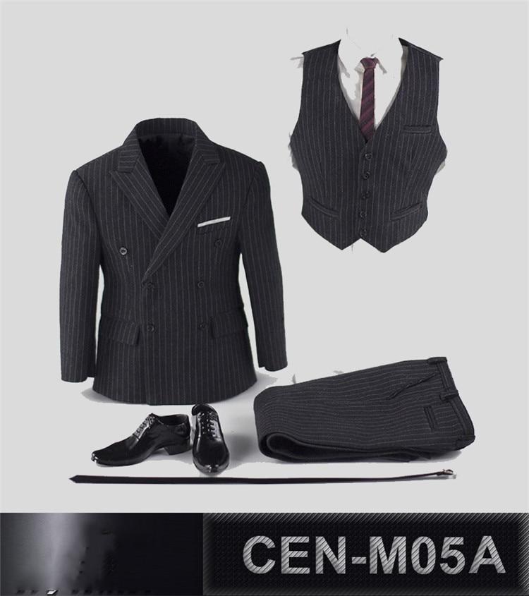 Suit Set 3 Colors 1:6 Scale Professor Gentleman Suit Set For TBLeague Phicen M34 Male Figure Body Toy
