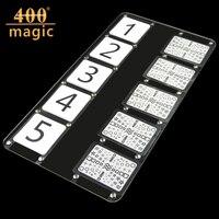 ESP Predicted Plate Stage Magic Tricks Card Street Magic Close Up Mentalism Comedy Accessories400magic