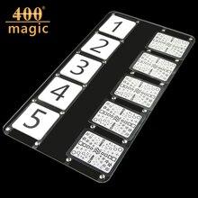 ESP predicted plate- Stage Magic Tricks,card,street magic,close up,mentalism,comedy,Accessories400magic