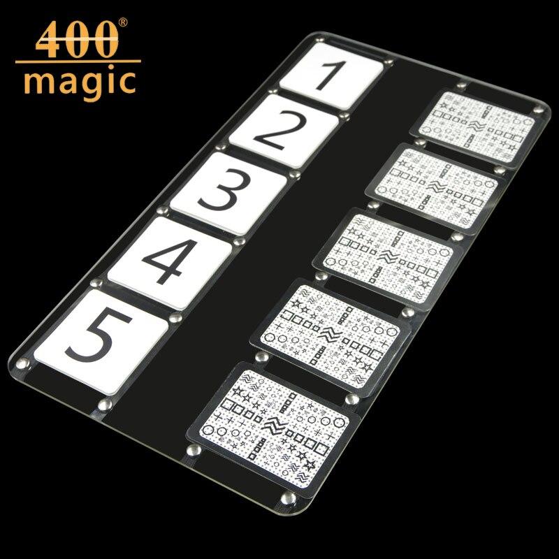 Esp предсказал тарелка-Stage Волшебные трюки, карты, волшебники, закрыть, ментализм, комедии, accessories400magic ...