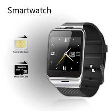 Aplus Gv18 MTK 6260 Bluetooth Smartwatch Wrist Montre Connecter Android Uhr NFC Tragbare Geräte Mit Sim-karte Intelligente