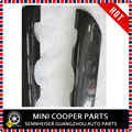 Brand New Carbon Fiber Material UV Protected Console Cover Black Color Style  for mini cooper R55-R59(2Pcs/Set)