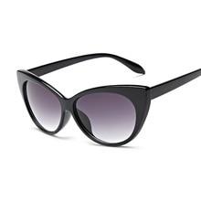 ab45c1b62f 2018New Solar mujer marca diseñador Sexy de ojo de gato gafas de sol de  gafas de moda de las mujeres de los hombres de tonos AB6.