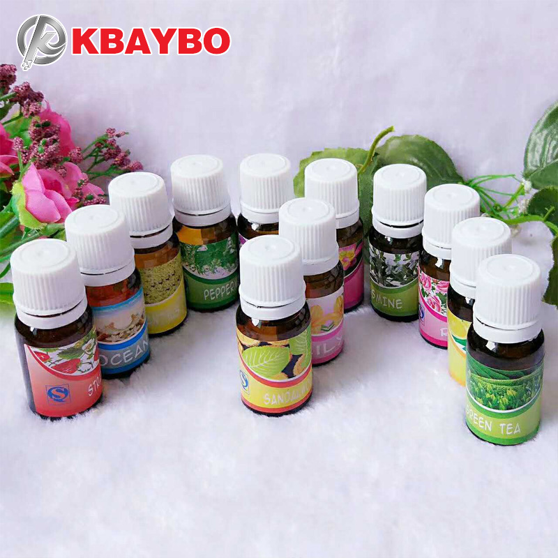 KBAYBO Oil Essential Oils for Aromatherapy Lavender Oil Humidifier Oil with 12 Kinds of Fragrance sandalwood rose green tea essential oils with aromatic aromatherapy oil 6 kinds fragrance of lavender tea tree lemongrass essential oil for diffuser