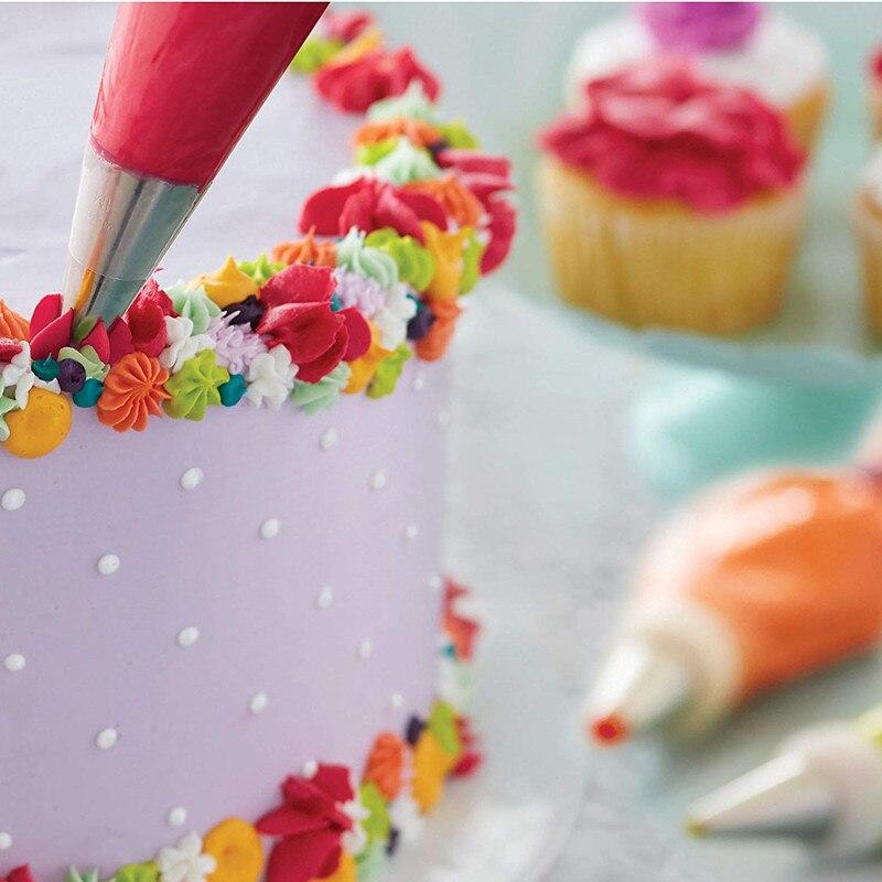 Wilton Set Of 4 Icing Decorating Flower Nails Sugarcraft Cake Cupcake Decorating