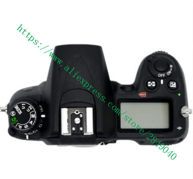 95%new original D7000 open unit for Nikon D7000 TOP Cover Shell with Flash board TOP LCD Replacement D7000 Camera Repair Part silver and black original lens zoom unit for canon powershot s110 digital camera repair part with ccd