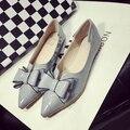 Vbngft плоские туфли Балетки обувь большого размера обуви квартир Женщин-609