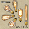 lampada edison retro light ampoule vintage e27 bulb lamp ST64 220v 110v luminaria decorative retro lamp incandescent light bulb