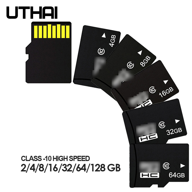 UTHAI SDHC Tf-Card Camera Smartphone Class SDXC 16GB 8GB 32GB 64GB for C15