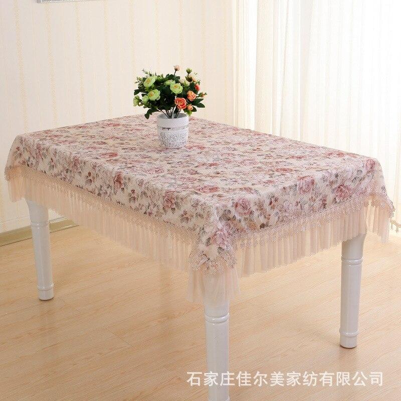 Сад Скатерть Кружево скатерть штамп подушки пакет прямоугольная скатерть крышка стула