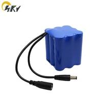 OEM DIY 3.7V 7.4V 11.1V 14.8V 18650 1S 2S 3S 4S LI ION Rechargeable battery packs