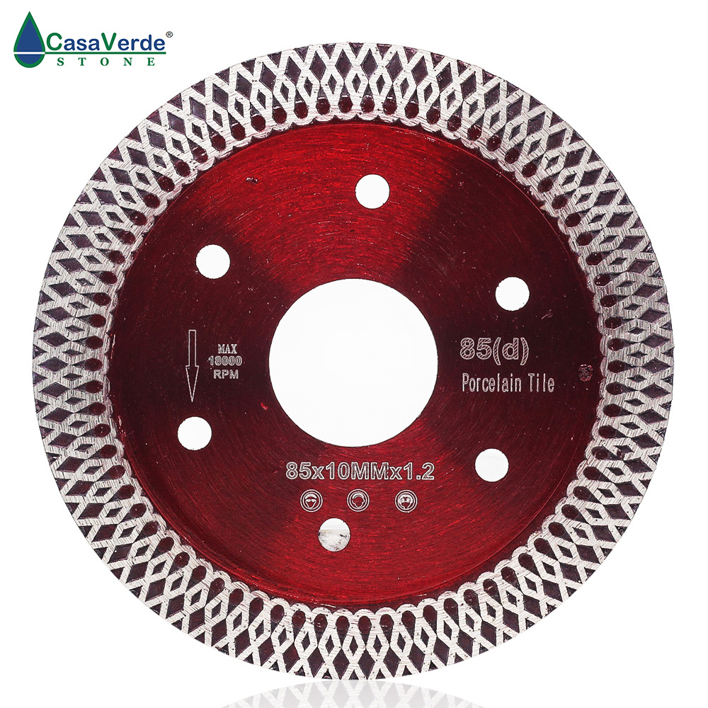 Free Shipping  85mm Super Thin Diamond Ceramic Tile Saw Blade Porcelain Cutting Blade For Cutting Ceramic Or Porcelain Tile