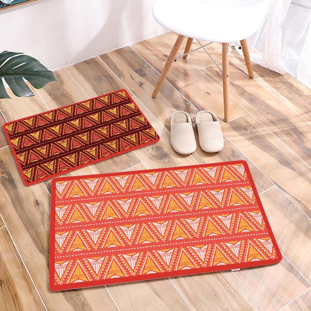 African Pattern Print Waterproof Home Mat Door Mat carpet Outdoor Entrance Pad Soft Carpet Doormat Indoor Bathroom Floor Mats-in Mat from Home & Garden