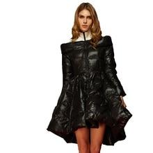2017 Winter new arrival women's down jacket girls long luxurious personality big swing women's fashion down coat V3803
