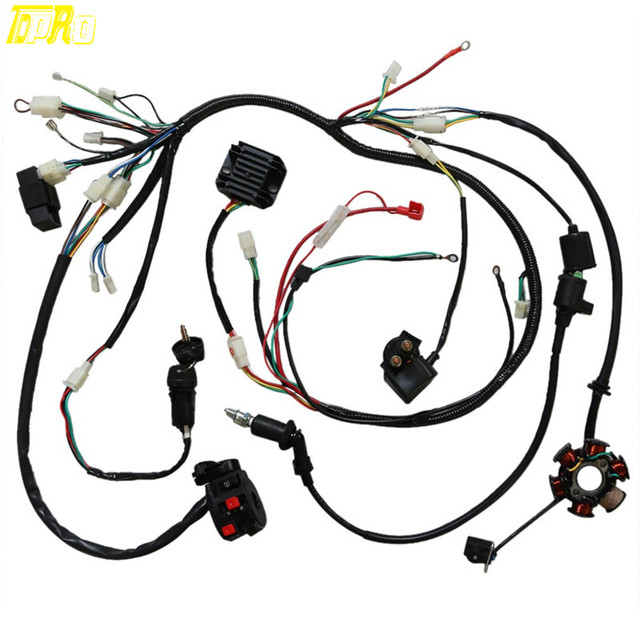 X1 Pocket Bike Wiring Harnes
