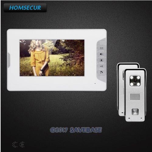 HOMSECUR 7inch Video Door Phone Intercom System With User-friendly Design of Mute Mode кальсоны user кальсоны