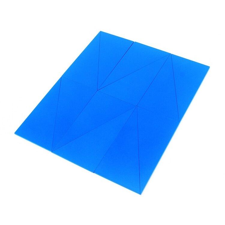 Triângulos Azuis do bebê Brinquedo Para Preschool