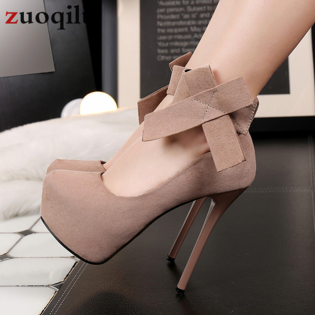 2019 platform high heels shoes woman bow wedding shoes 14 cm platform heels shoes stiletto bridal pumps women shoes #black