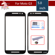 For Motorola Moto G3 G 3rd Gen 2015 xt1544 xt1550 xt1540 XT1541 XT154 Touch Screen Front Outer Glass Panel Lens NO LCD Digitizer brand 2015 new black white for motorola moto g3 g 3rd gen lcd display screen with touch digitizer complete 1 piece free hk post